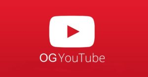 OGYoutube banned android application