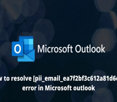 [pii_email_ea7f2bf3c612a81d6e28] Error Code Solved